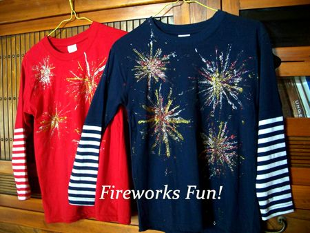 july 4th t shirt craft ideas