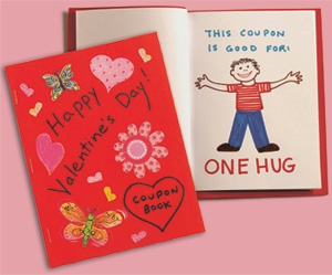 valentine coupon book template