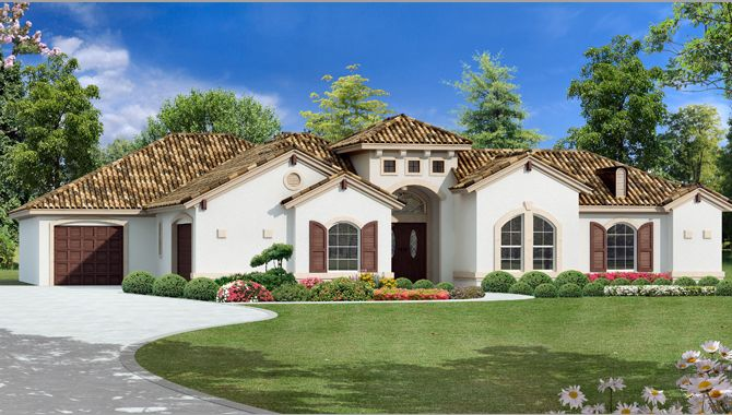 Story Mediterranean House Plans Discover Your House Plans Here
