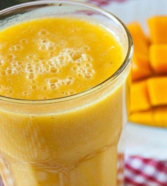 Mango Smoothie recipe | Yummy for my Tummy | Pinterest