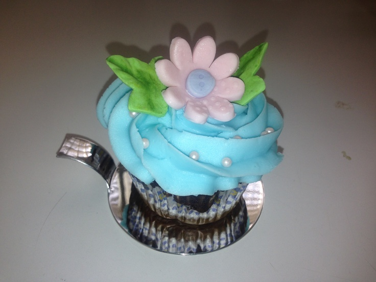 Cup cake for a Bridal shower