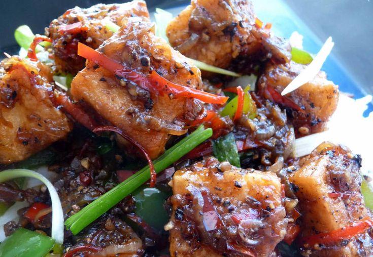 Black Pepper Tofu | Cheeeeeezy | Pinterest