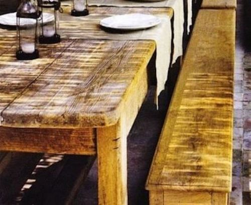 Reclaimed wood kitchen table life pinterest - Kitchen table reclaimed wood ...