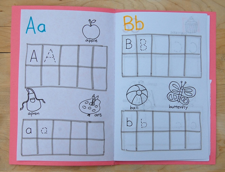 ABC Practice Book