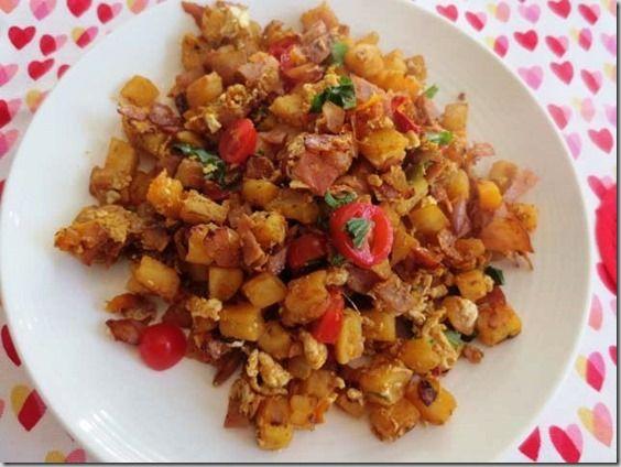 Ham Egg and Potato Hash. | Weight Watchers Recipes/Ideas | Pinterest