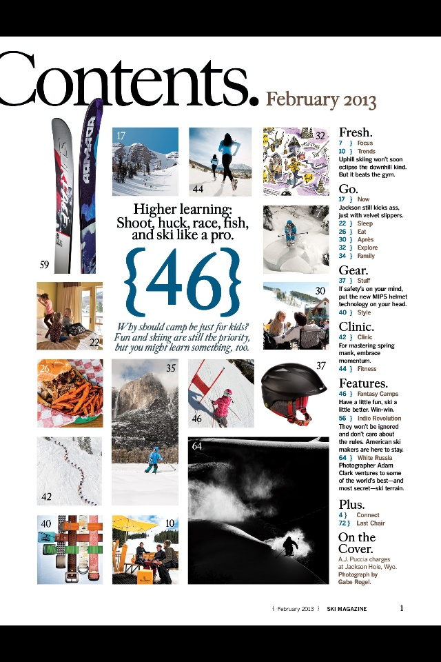 contents creation magazines
