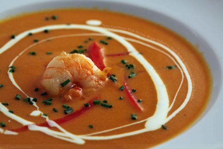 shrimp bisque | This looks delicious | Pinterest