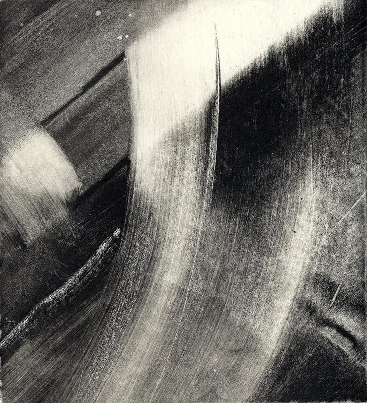 Sophie Victoria Elliott, monoprint, 2011.