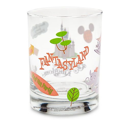 Love this Fantasyland Glass by Shag!!