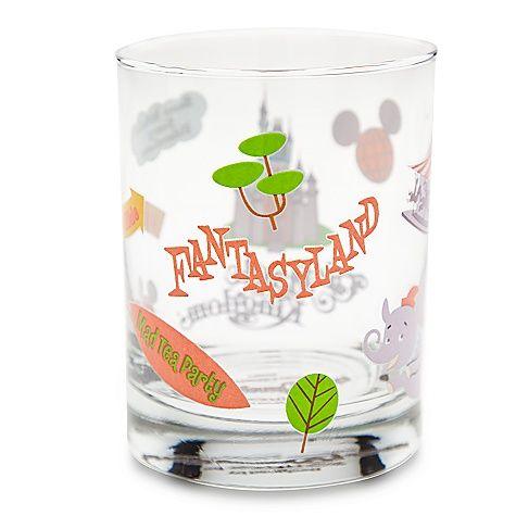Love this Fantasyland Glass by Shag!!