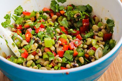 ... for Black-Eyed Pea Salad with Peppers, Cilantro, and Cumin-Lime