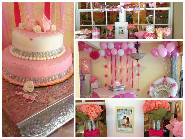 ballerina themed baby shower babyshower pinterest