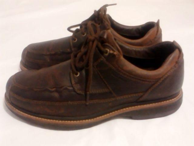 RJ Colt, Rolin 11.5 M Oxfords Lace Up Mens Shoes, Dark Brown #RJColt