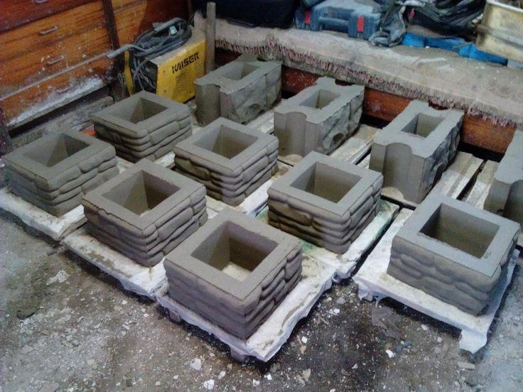 Блоки своими руками пластик 50