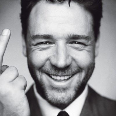 russell crowe...