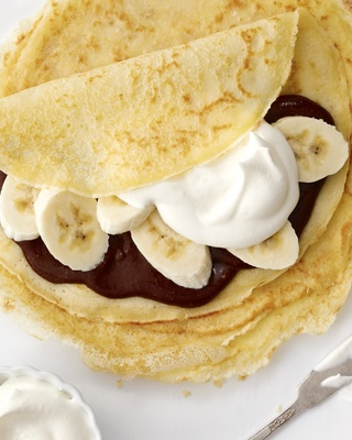 Shortbread Cookies With Nutella, Bananas And Almonds Recipes ...