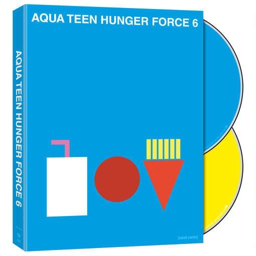 Volumen de dvd Aqua Teen 4