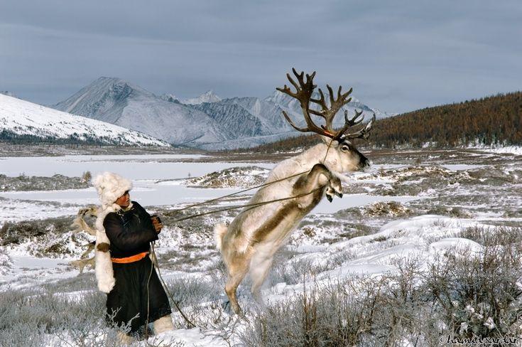 Agghi Mountains. Hovsgol, Mongolia