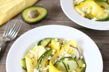 and corn salad zucchini and corn taco seasoned quinoa salad zucchini ...