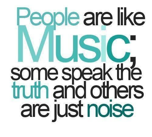 People are like Music!