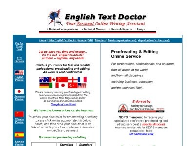 Professional dissertation editing services