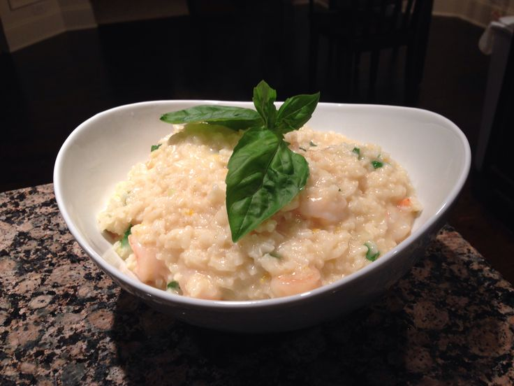 Shrimp & Meyer Lemon Risotto | Get In My Belly - Savory | Pinterest