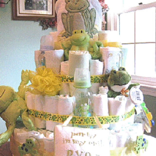diaper cake baby shower ideas pinterest