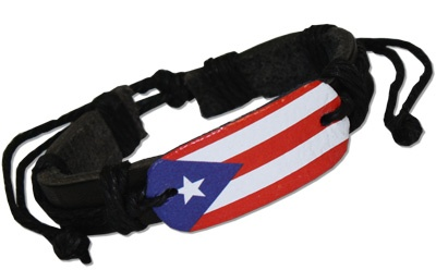 puerto rico flag black and white