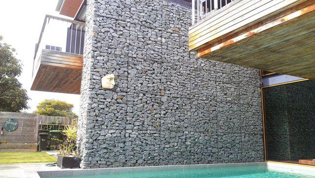 Gabion Retaining Wall Design : Gabion Wall