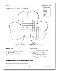 March worksheets as low as $0.25 at edWorksheets.com!