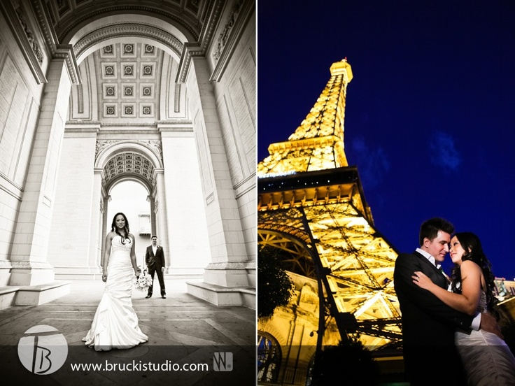 Wedding photography at paris las vegas my wedding for Paris las vegas wedding