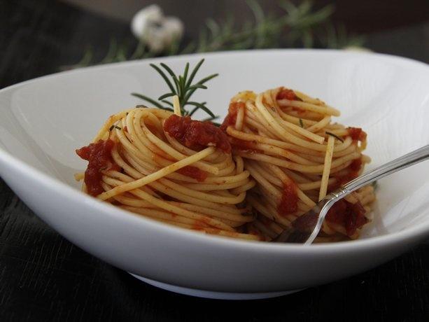 Spicy Rosemary Spaghetti | Recipe