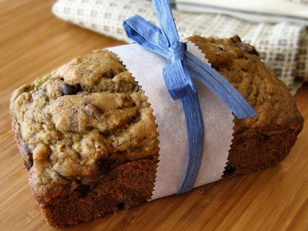 mmm zucchini banana bread my favorite and these cute tiny loaves make ...