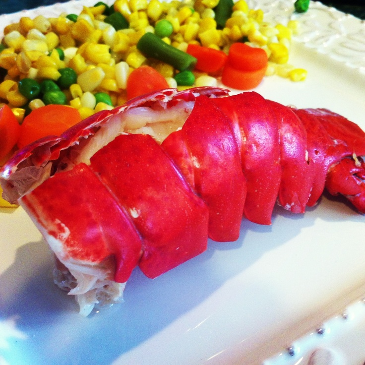 Steamed Lobster Tails with Lemon-Butter Sauce (easy recipe that can be ...