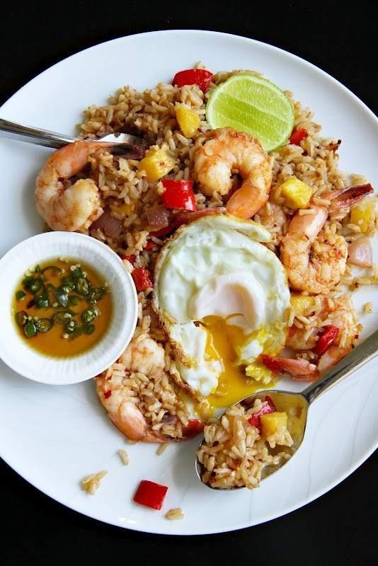 THAI FRIED RICE | Thai Food | Pinterest
