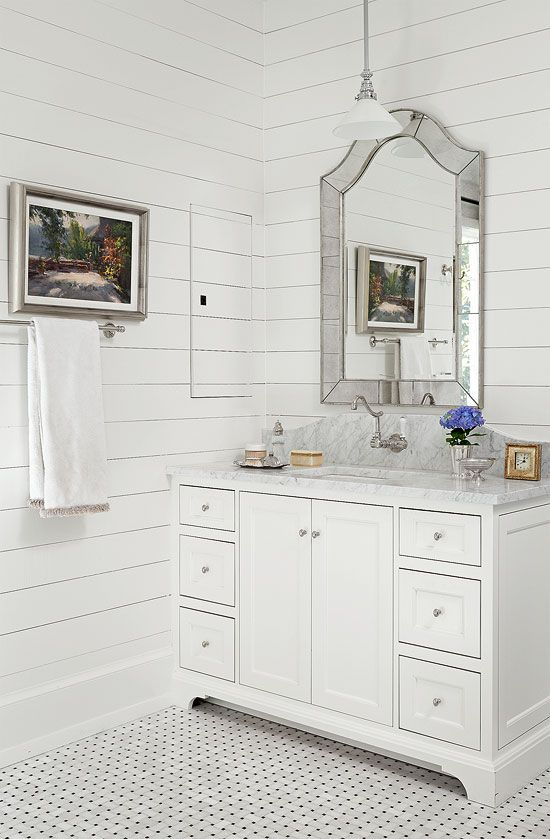 Pin by patricia laursen on arrangements pinterest for Colonial style bathroom vanities