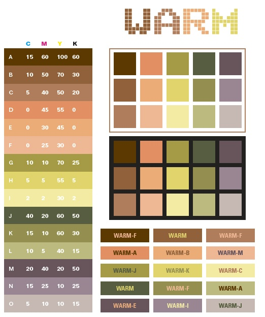 Warm Color Palette One day for the home Pinterest