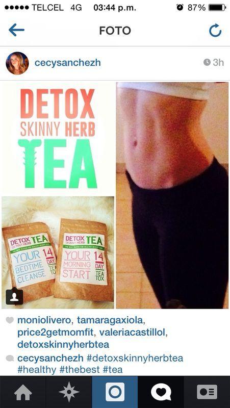detox skinny herb tea health fitness that i love pinterest. Black Bedroom Furniture Sets. Home Design Ideas