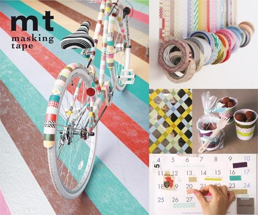 why not washi tape a bike?