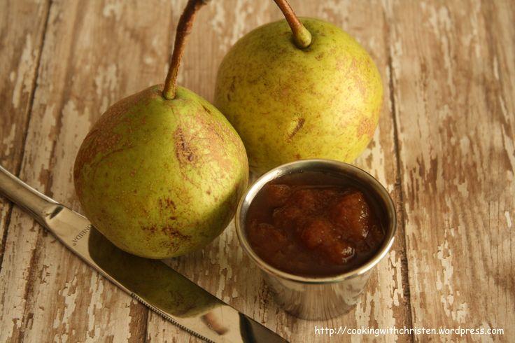 Crock Pot Pear Butter | Canning | Pinterest