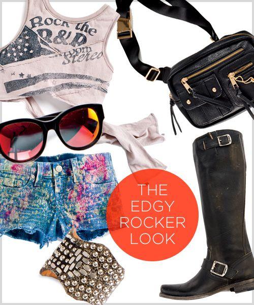 The Edgy Rocker
