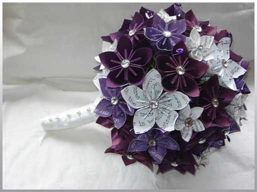 Origami Flowers For A Wedding Wedding Pinterest