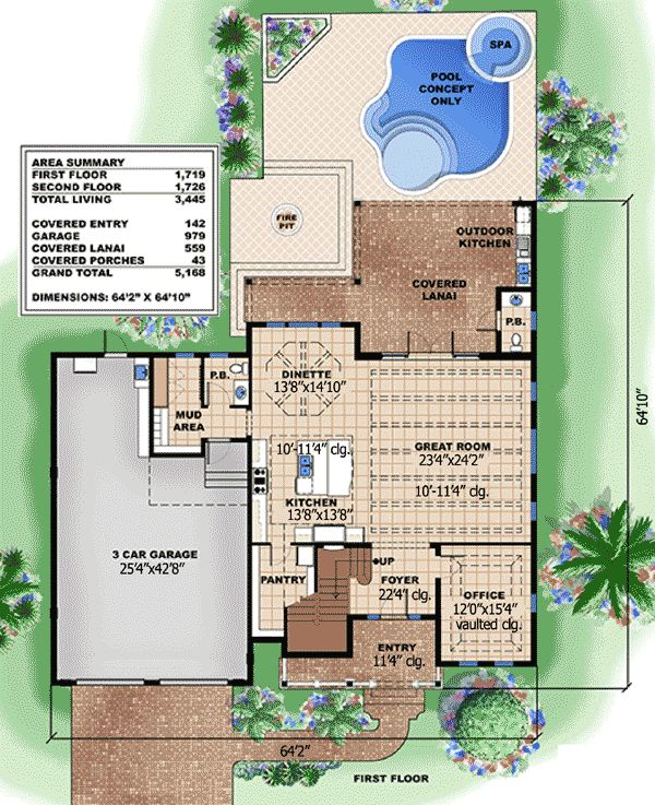 Open And Inviting Beach House Plan