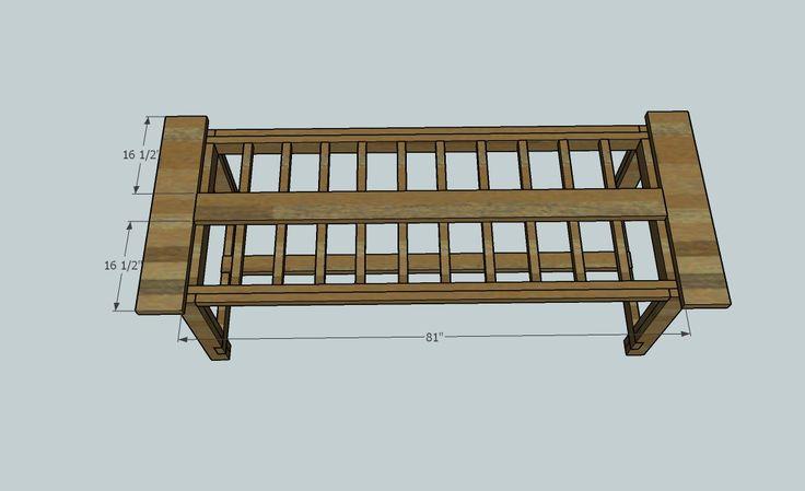 Farmhouse table plans darrell 39 s pinterest for How to build a farmhouse table plans