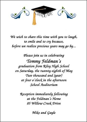 Graduation Invitation Etiquette correctly perfect ideas for your invitation layout