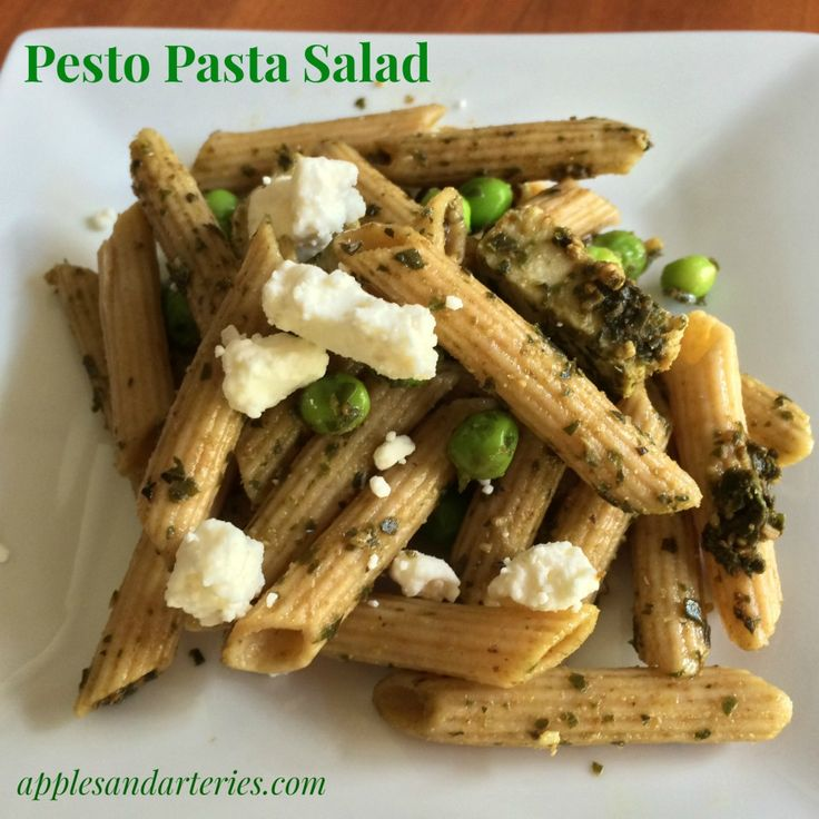 pesto pasta salad | Salad Shooter | Pinterest