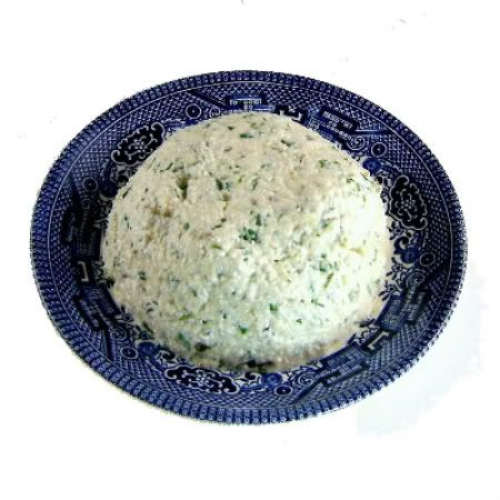 One Perfect Bite: Herb Cheese Dip using cottage cheese