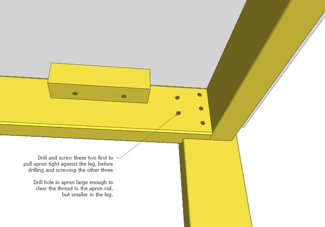 simple table leg plans  Woodworking  Pinterest