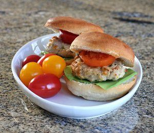 Herbed Turkey Burger Recipe