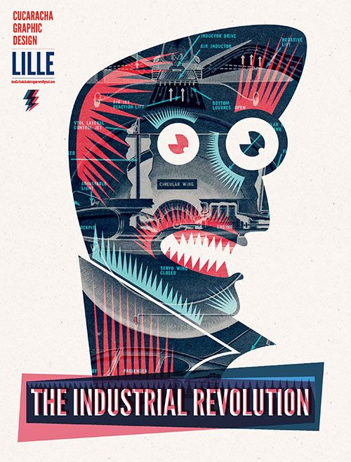 graphic design and the industrial revolution